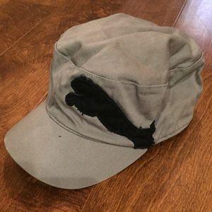Puma Black and Gray Hat